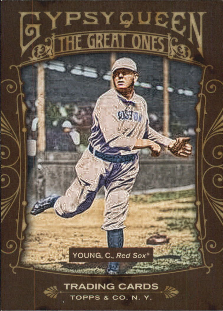 2011 Topps Gypsy Queen Great Ones #GO27 Cy Young