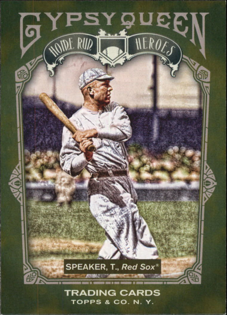 2011 Topps Gypsy Queen Home Run Heroes #HH25 Tris Speaker