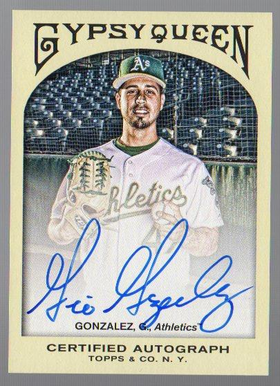 2011 Topps Gypsy Queen Autographs #GG Gio Gonzalez
