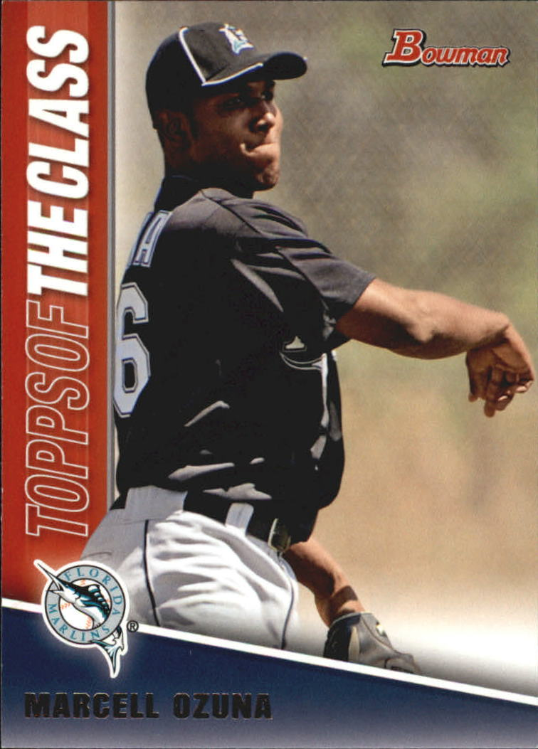2011 Bowman Topps of the Class #TC15 Marcell Ozuna
