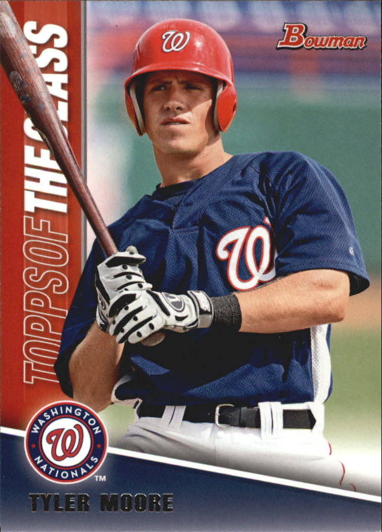 2011 Bowman Topps of the Class #TC18 Tyler Moore