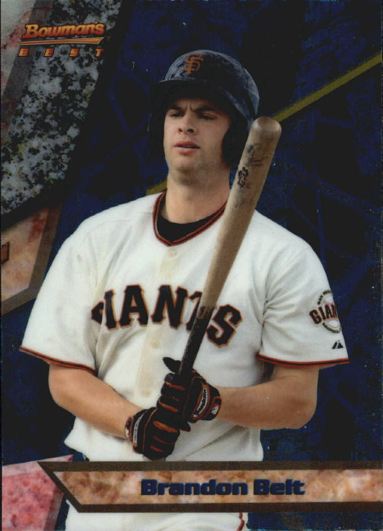 2011 Bowman Bowman's Best Prospects #BBP18 Brandon Belt