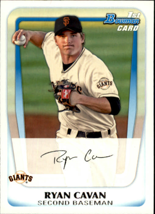 2011 Bowman Prospects #BP7 Ryan Cavan