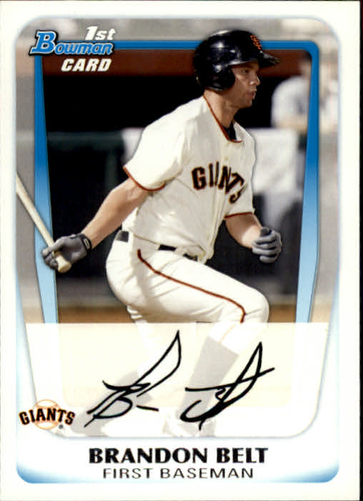 2011 Bowman Prospects #BP93 Brandon Belt