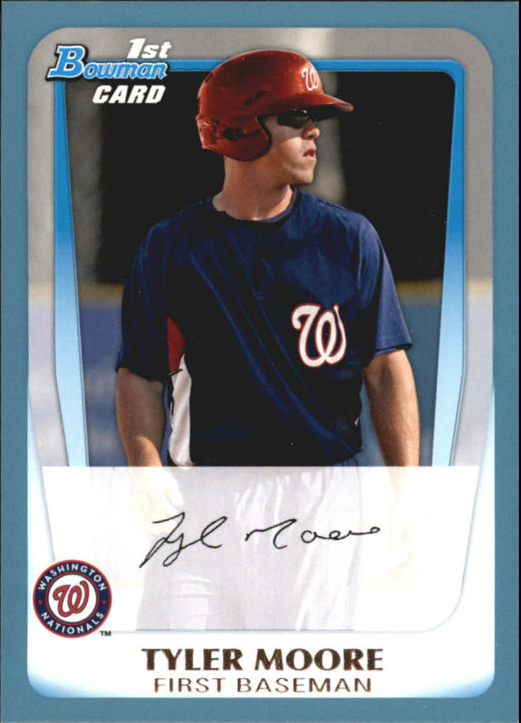 2011 Bowman Prospects Blue #BP5 Tyler Moore