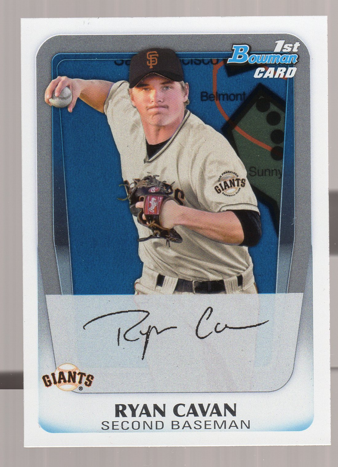 2011 Bowman Prospects International #BP7 Ryan Cavan