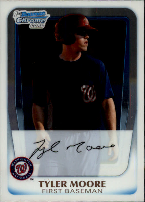 2011 Bowman Chrome Prospects #BCP5 Tyler Moore