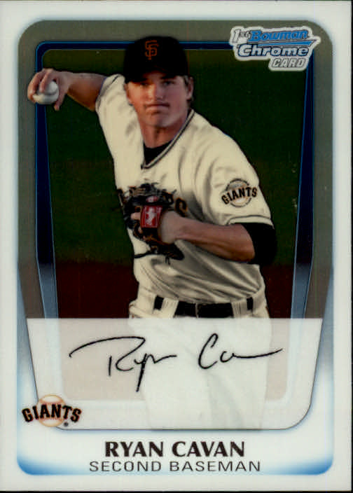 2011 Bowman Chrome Prospects #BCP7 Ryan Cavan