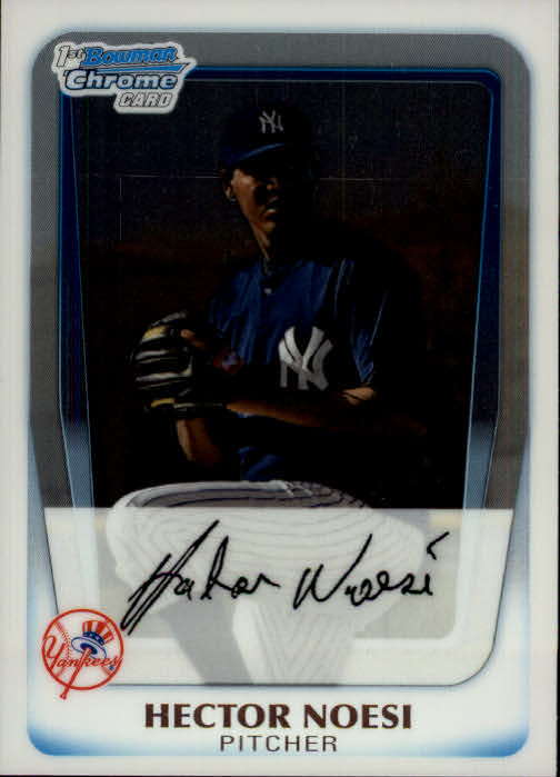 2011 Bowman Chrome Prospects #BCP17 Hector Noesi