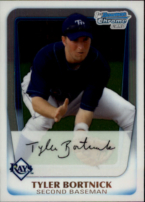 2011 Bowman Chrome Prospects #BCP18 Tyler Bortnick