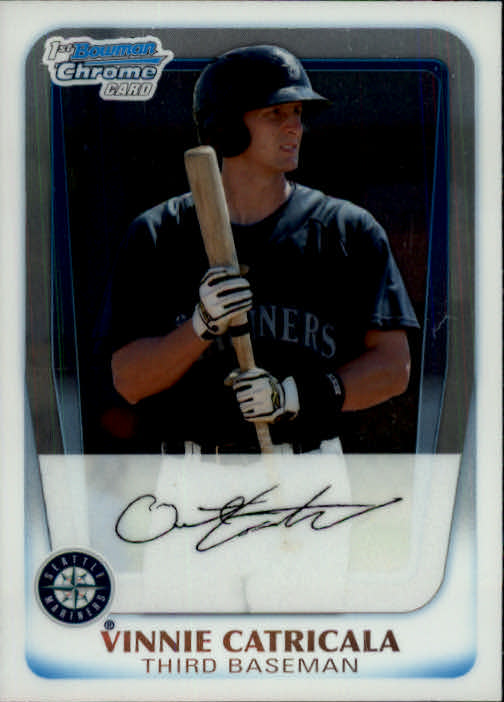 2011 Bowman Chrome Prospects #BCP23 Vinnie Catricala