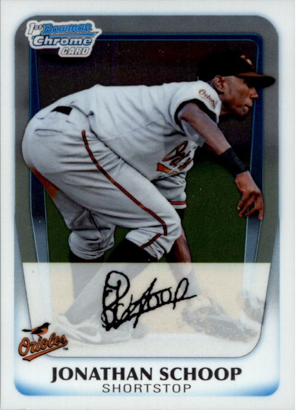 2011 Bowman Chrome Prospects #BCP25 Jonathan Schoop