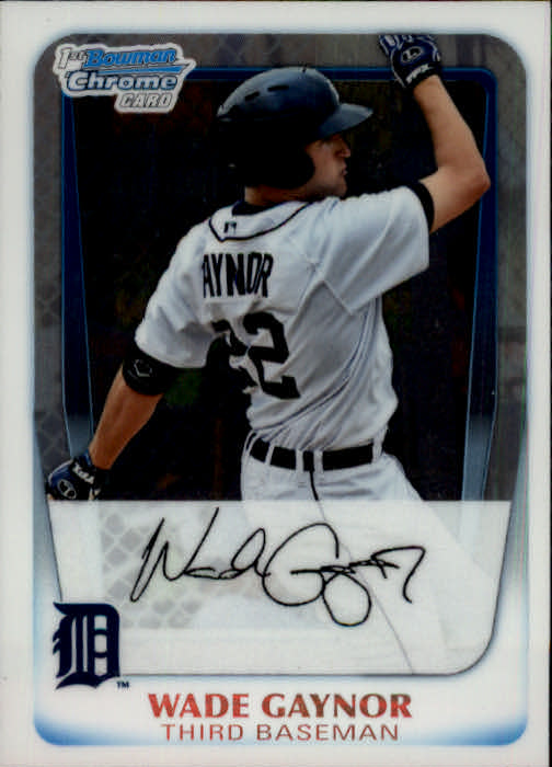 2011 Bowman Chrome Prospects #BCP70 Wade Gaynor