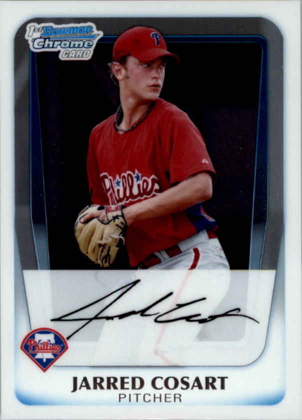 2011 Bowman Chrome Prospects #BCP87 Jarred Cosart