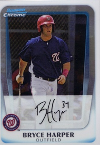 2011 Bowman Chrome Prospects #BCP111 Bryce Harper