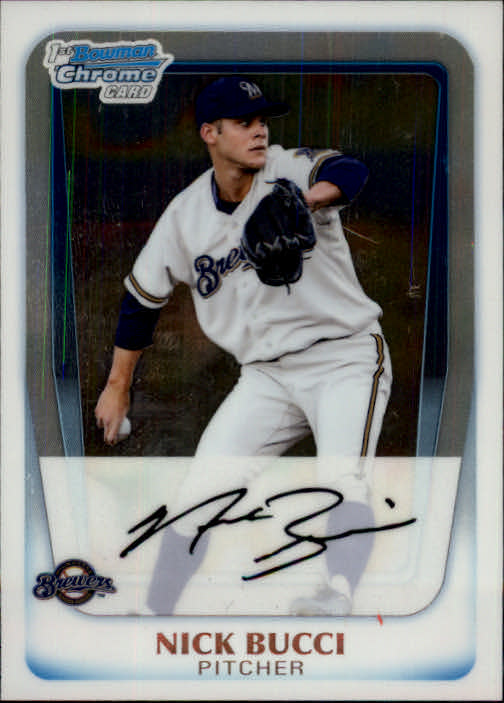 2011 Bowman Chrome Prospects #BCP115 Nick Bucci