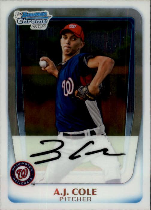 2011 Bowman Chrome Prospects #BCP160 A.J. Cole
