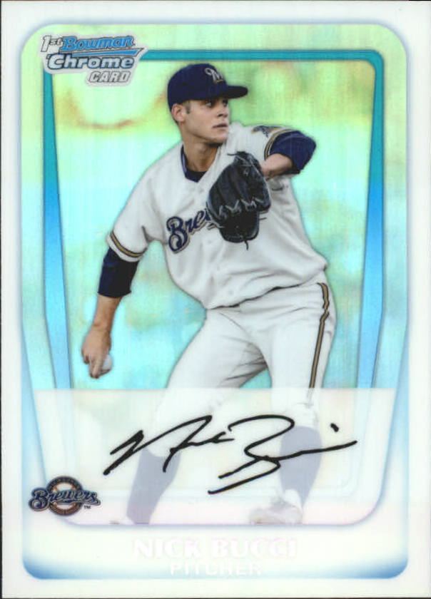 2011 Bowman Chrome Prospects Refractors #BCP115 Nick Bucci