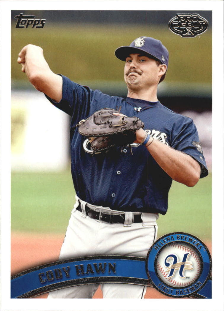 2011 Topps Pro Debut #12 Cody Hawn