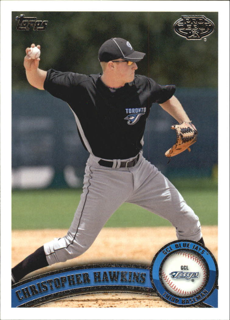 2011 Topps Pro Debut #31 Christopher Hawkins