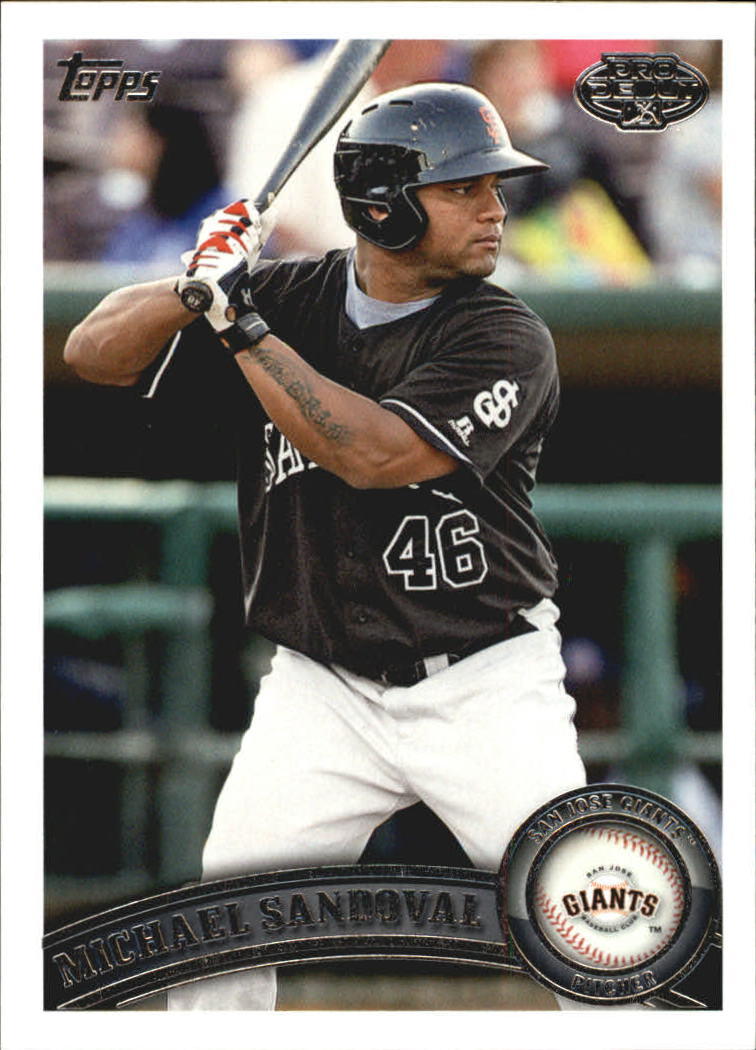 2011 Topps Pro Debut #59 Michael Sandoval