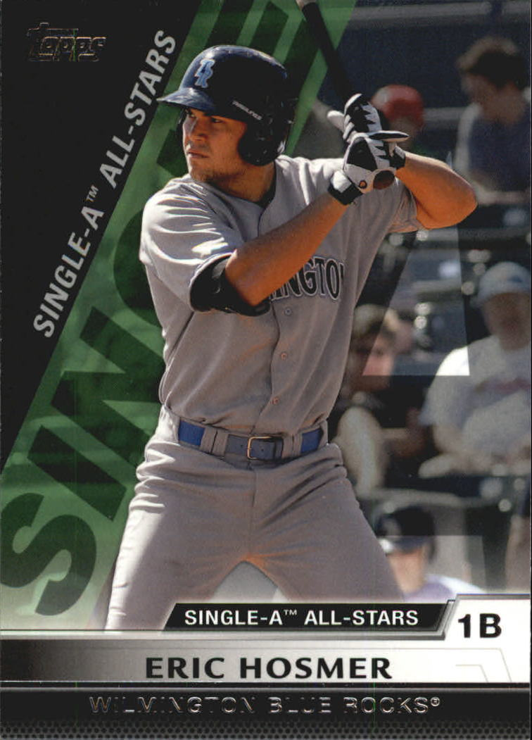 2011 Topps Pro Debut Single-A All Stars #SA6 Eric Hosmer