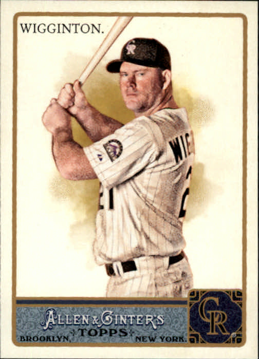 2011 Topps Allen and Ginter #2 Ty Wigginton