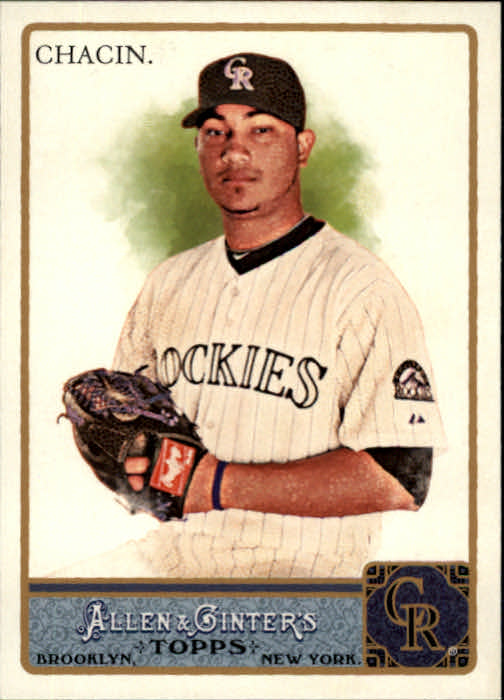 2011 Topps Allen and Ginter #4 Jhoulys Chacin