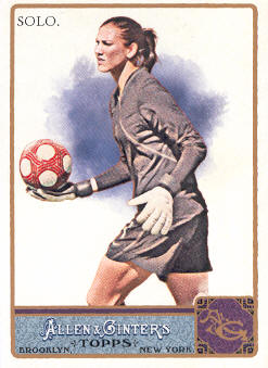 2011 Topps Allen and Ginter #12 Hope Solo