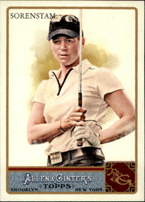 2011 Topps Allen and Ginter #45 Annika Sorenstam
