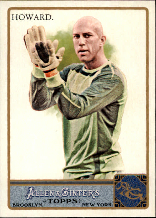 2011 Topps Allen and Ginter #139 Tim Howard