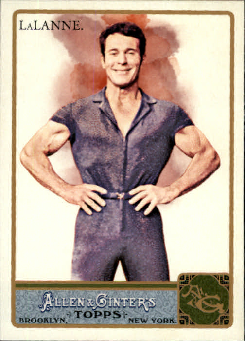 2011 Topps Allen and Ginter #225 Jack LaLanne