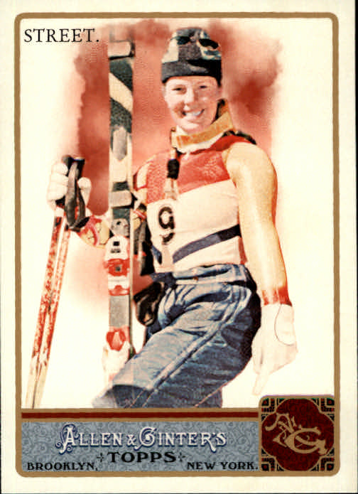 2011 Topps Allen and Ginter #232 Picabo Street