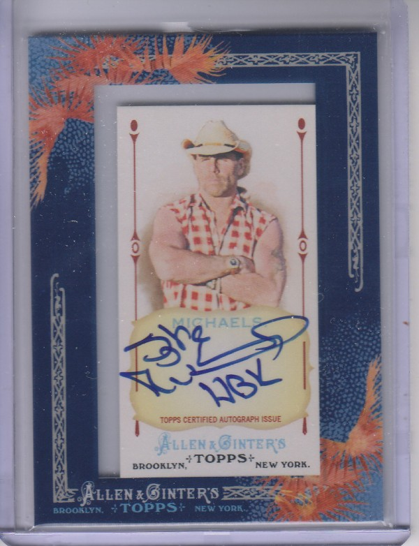 2011 Topps Allen and Ginter Autographs #SMI Shawn Michaels