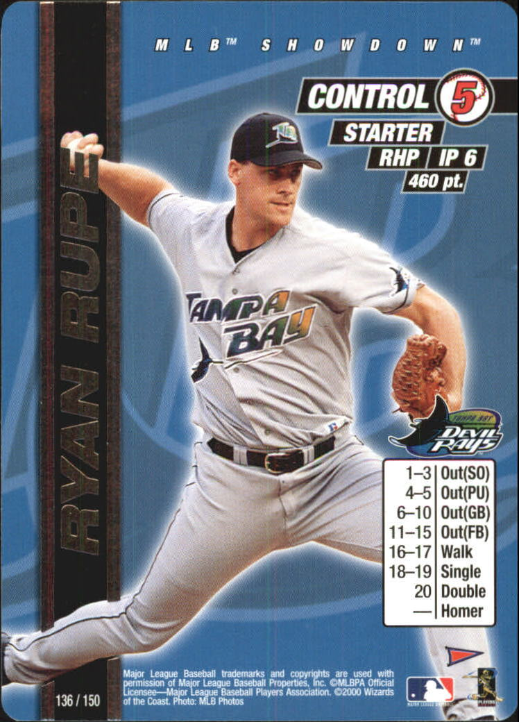 2000 MLB Showdown Pennant Run Unlimited #136 Ryan Rupe