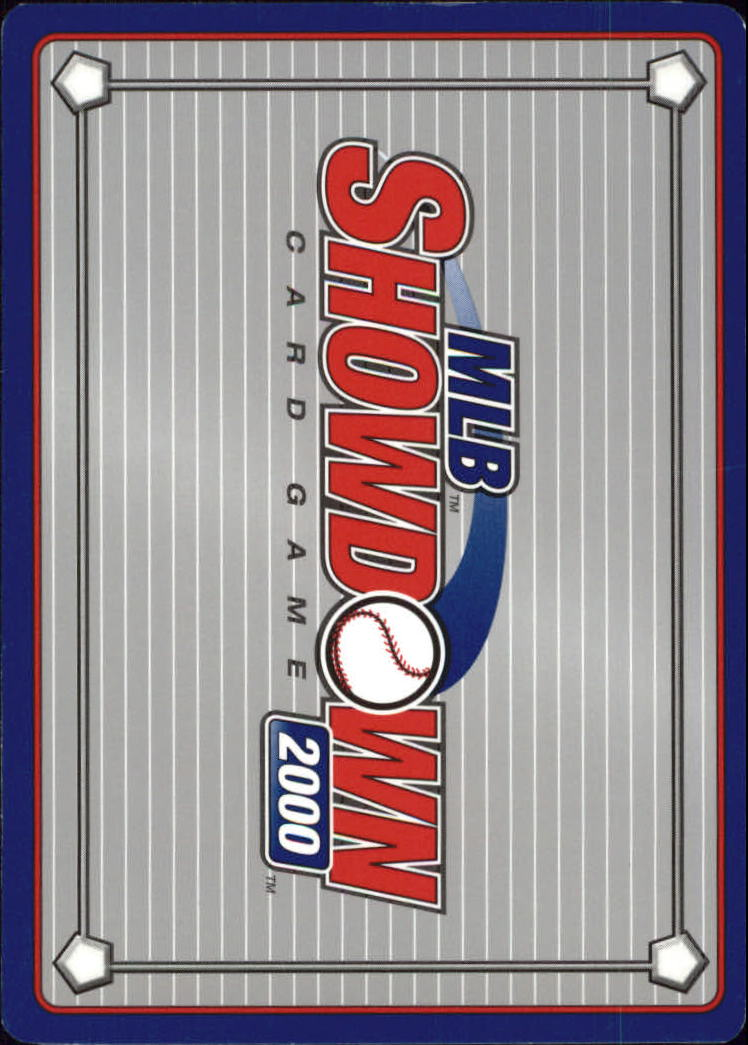 2000 MLB Showdown Pennant Run Unlimited #143 Kenny Rogers