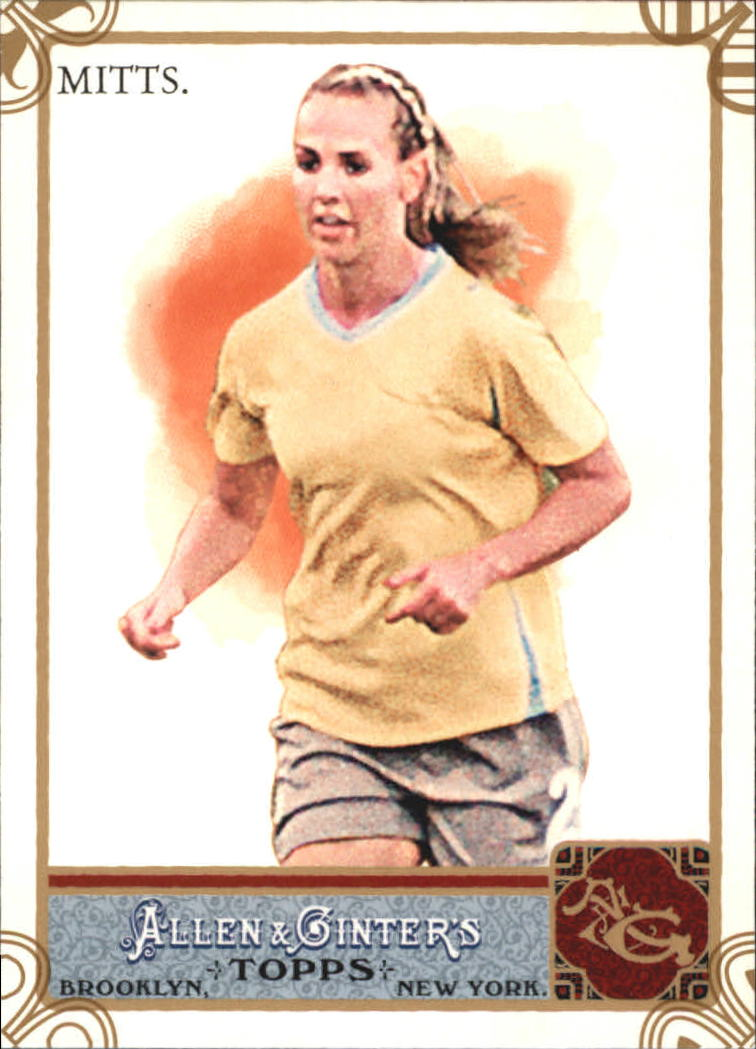 2011 Topps Allen and Ginter Code Cards #164 Heather Mitts