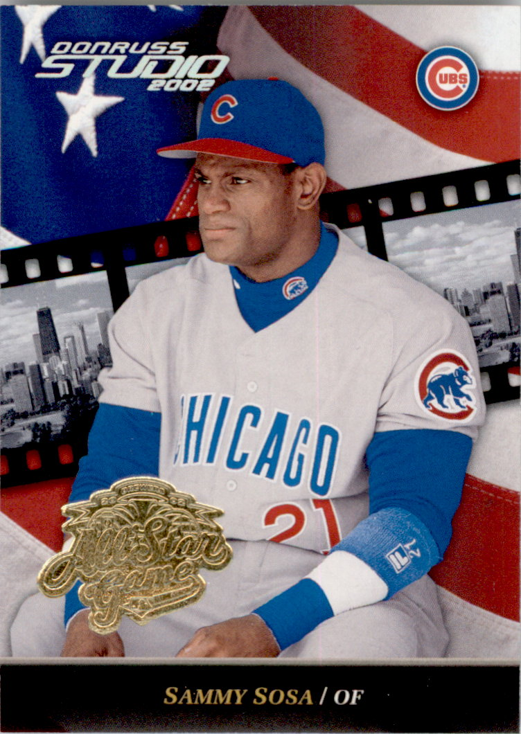 2002 Studio All-Star Game #9 Sammy Sosa