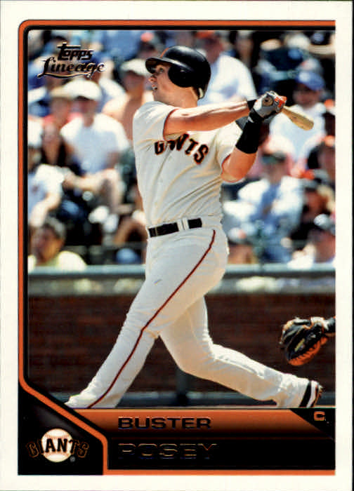 2011 Topps Lineage #4 Buster Posey