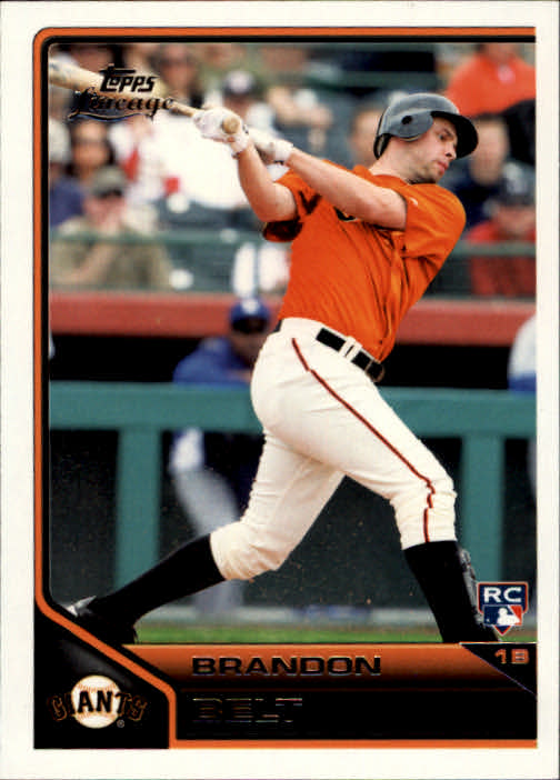 2011 Topps Lineage #162 Brandon Belt RC