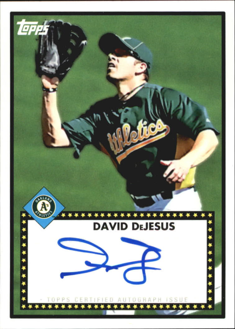 2011 Topps Lineage 1952 Autographs #52ADD David DeJesus