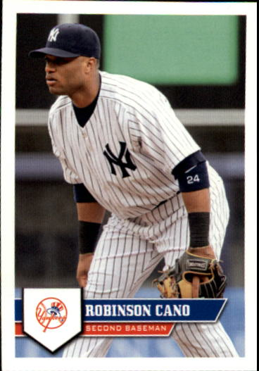 2011 Topps Stickers #24 Robinson Cano