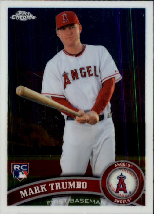 2011 Topps Chrome #178 Mark Trumbo (RC)