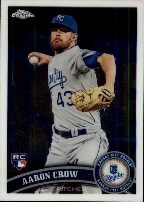 2011 Topps Chrome #220 Aaron Crow RC