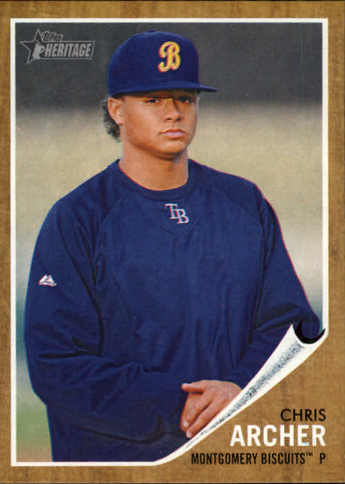 2011 Topps Heritage Minors #3 Chris Archer