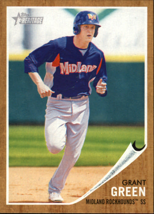 2011 Topps Heritage Minors #15 Grant Green