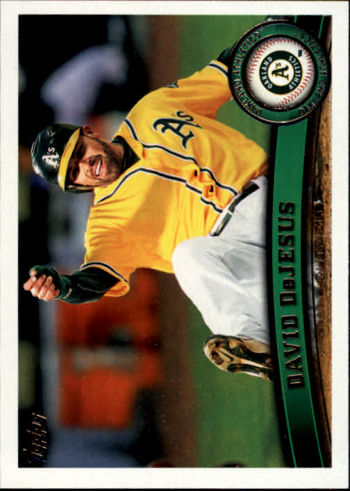 2011 Topps Update #US225 David DeJesus