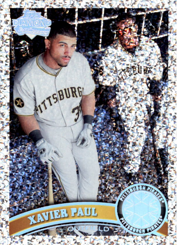 2011 Topps Update Diamond Anniversary #US124 Xavier Paul
