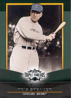 2011 Topps Triple Threads Emerald #96 Tris Speaker