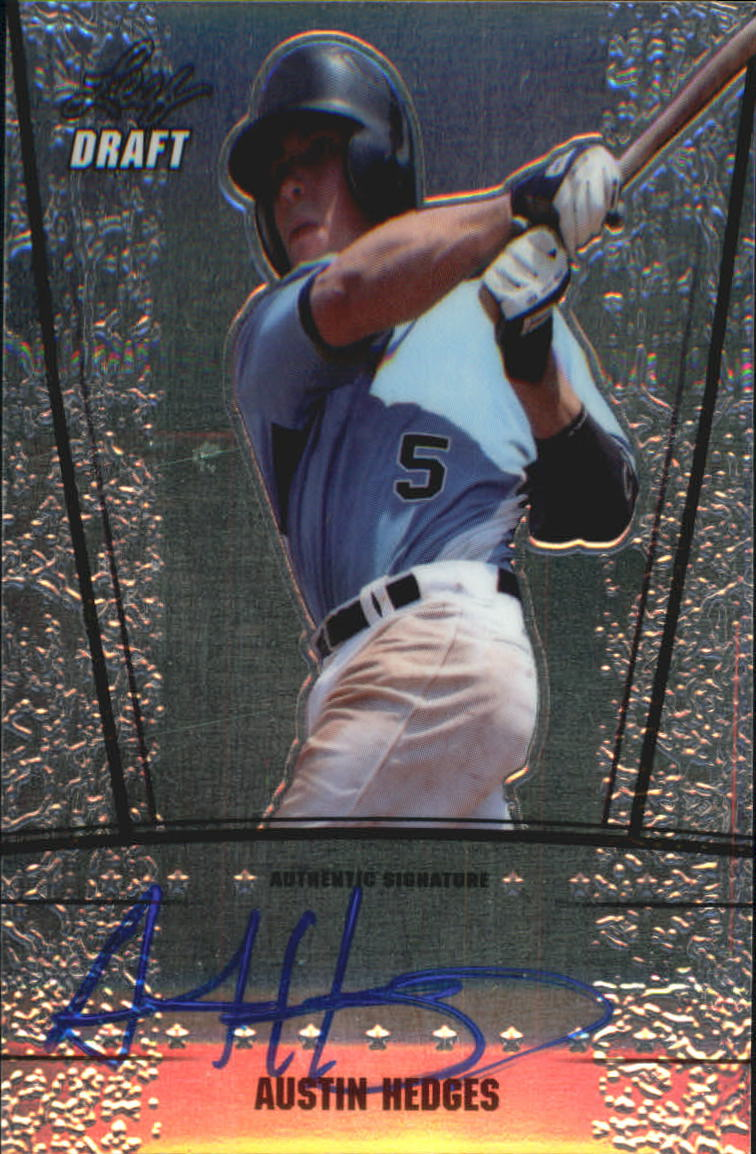 2011 Leaf Metal Draft #AH1 Austin Hedges